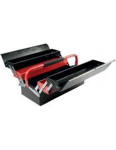 COGEX Caisse à outils métal 5 compartiments