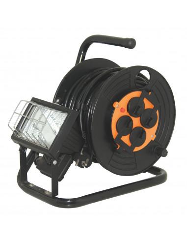 ELECTRALINE Enrouleur électrique avec projecteur