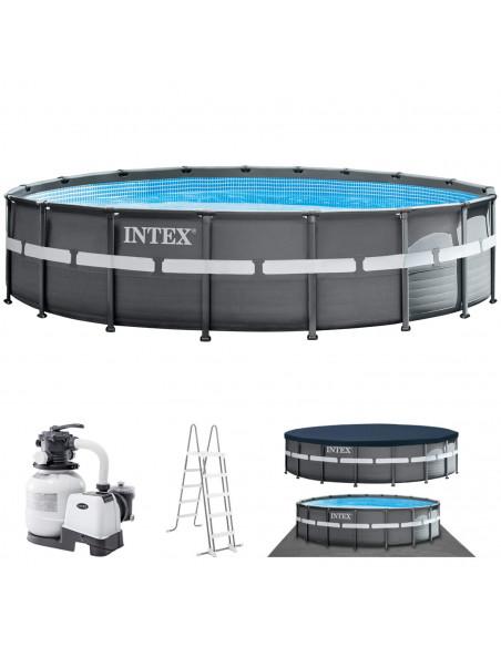 INTEX Kit Piscine ULTRA XTRE Ronde 5,49 x 1,32 m