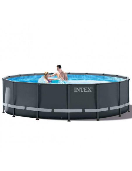 INTEX Kit Piscine ULTRA XTR Ronde 4,88 x 1,22 m