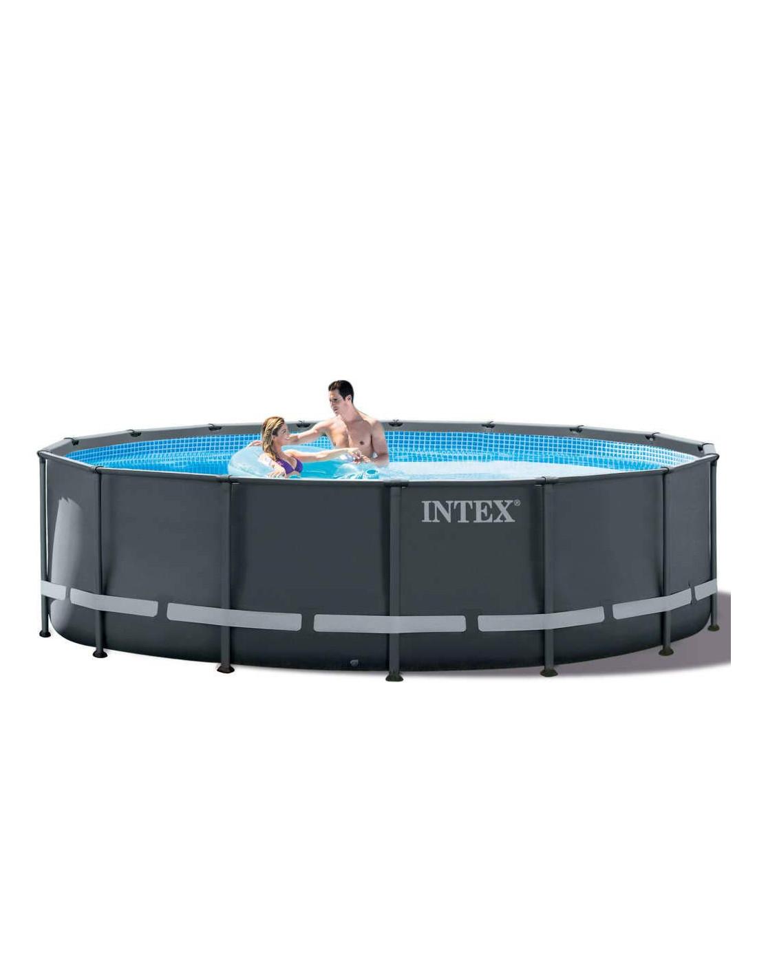 Eclairage Pour Piscine Tubulaire intex kit piscine tubulaire ultra xtr ronde 4,88 x 1,22 m
