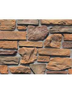 Brique murale d'angle MIXED STONE SERIES GB-N03 pièce
