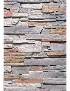 Brique murale d'angle BOJIAO ROCK SERIES GB-A31 pièce