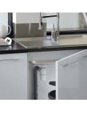 WIRQUIN Siphon d'évier NEO AIR avec prise machine à laver Ø40 mm
