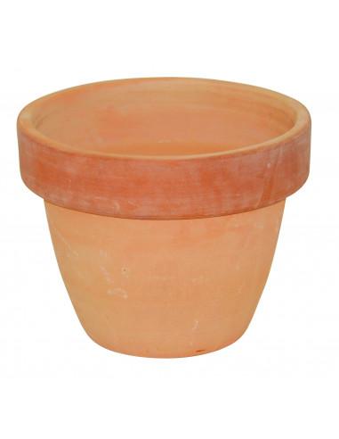 Cache-pot en terre cuite rond Ø38 x H.30 cm