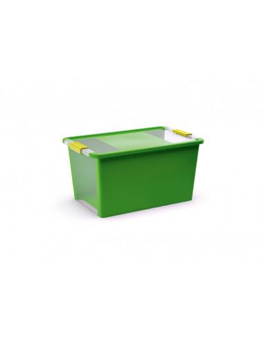 KIS Boîte de rangement plastique BI BOX L Vert Pop 35 x 55 x 28 cm 40L