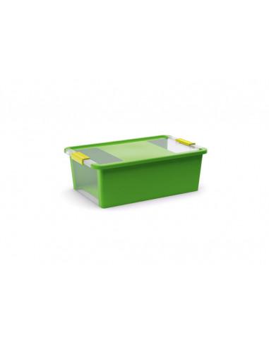 KIS Boîte de rangement plastique BI BOX M Vert Pop 35 x 55 x 19 cm 26L