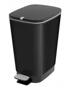 KIS Poubelle CHIC BIN M Black 40,5 x 26,5 x 45 cm 35L