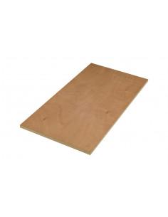 Panneau Contreplaqué Okoumé Extérieur 244 x 122 mm Ep. 4 mm à la découpe, vendu au m²