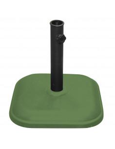 FORNORD Pied de parasol ciment 11 kg vert