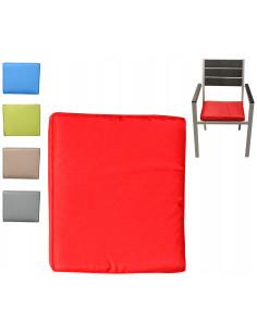 FORNORD Galette de chaise rectangulaire L.43 x l.37 x H.5 cm Assortiment 5 couleurs
