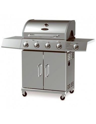 Grill Zone Bg2724b Barbecue A Gaz 4 Bruleurs 48000 Btu