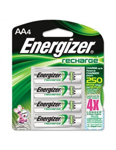 ENERGIZER Pile x4 rechargeable NiMH AA