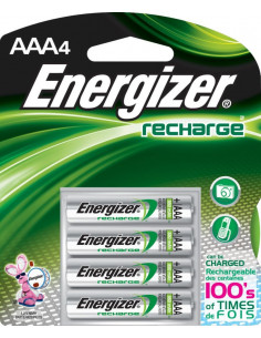 ENERGIZER Pile x4 rechargeable NiMH AAA