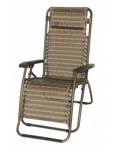 MARKET Fauteuil relax pliable multipositions
