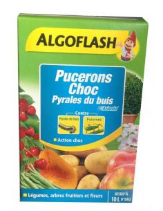 ALGOFLASH Pucerons choc pyrales du buis 100 ml