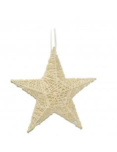 Étoile de neige H.10 cm