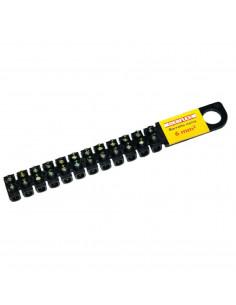 DEBFLEX Barrette de connexion 6 mm noir