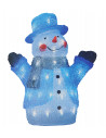 Bonhomme neige acryl l30x20h35