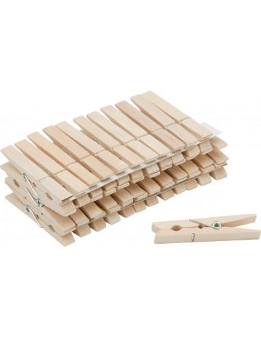 NESPOLI 36pince a linge bois trad