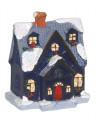 Deco maison village lum a susp