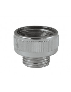 ROUSSEAU Raccord robinet-flexible ABS Chromé
