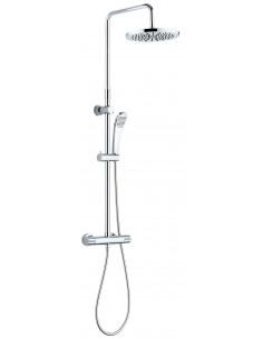 ROUSSEAU Colonne de douche avec robinetterie SUHORI Chromé