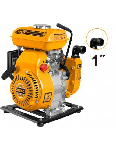 INGCO GWP102 Motopompe 105 cc 100 L/min Ø25 mm