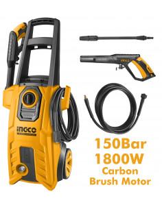 INGCO HPWR18008 Nettoyeur haute-pression 1800W 150bar