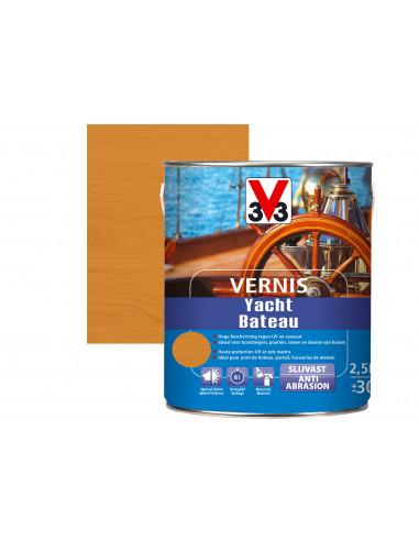 V33 Vernis Bateau brillant  2.5L  Ambré