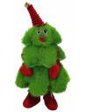 MARKET Peluche bonhomme arbre de Noël dansant et chantant 40 cm
