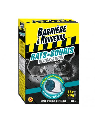 ALGOFLASH Rat & souris - 15 blocs appat