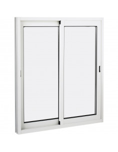Fenêtre coulissante aluminium 1200x1150mm
