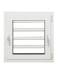 ALU Fenêtre Jalousie 600 x 600 mm gauche