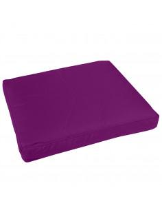 FORNORD Galette de chaise rectangle  43 x 37 x 5 cm prune
