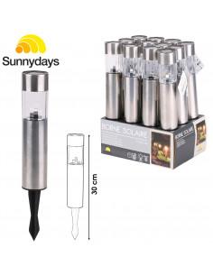 FORNORD Borne solaire plastique 30 cm