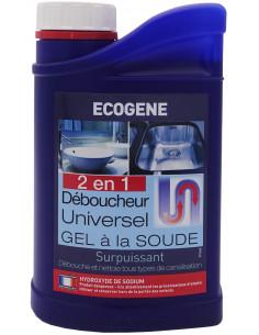 ECOGENE Débouch'vit Gel à la soude 1L