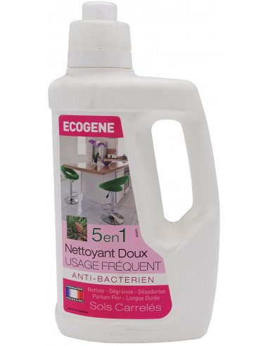 ECOGENE Nettoyant Doux usage fréquent 5en1 1L