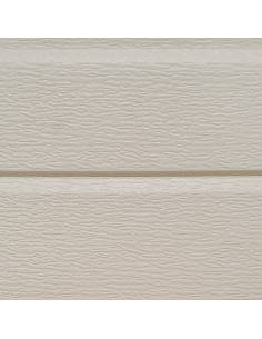 CLIN ALUMINIUM 497S-001 Façade murale 2250 x 380 x 16 mm blanc