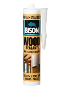 BISON Mastic bois wood sealant 300ml