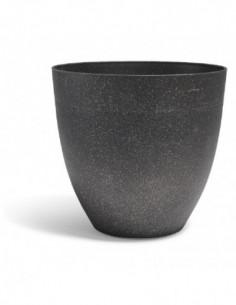 Cache pot effet granit gris...