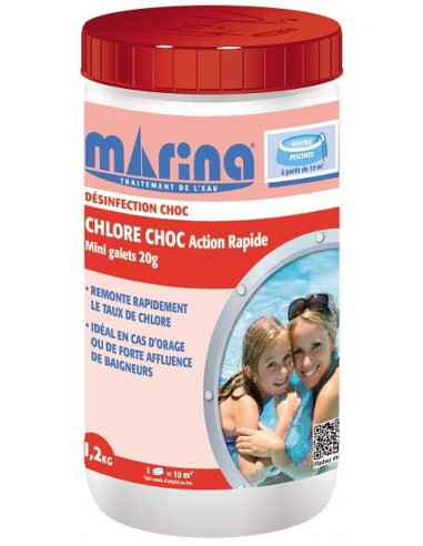 MARINA Chlore choc Action Rapide mini...