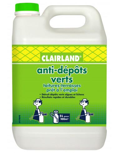 CLAIRLAND Anti-dépôt verts Bidon de 5 L