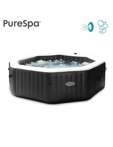 INTEX Pure Spa Gonflable CARBONE Jets...