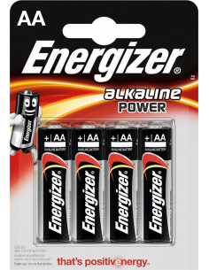 ENERGIZER Pile alkaline AA...