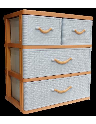 Commode 4 tiroirs - H.69 x l.61 x...
