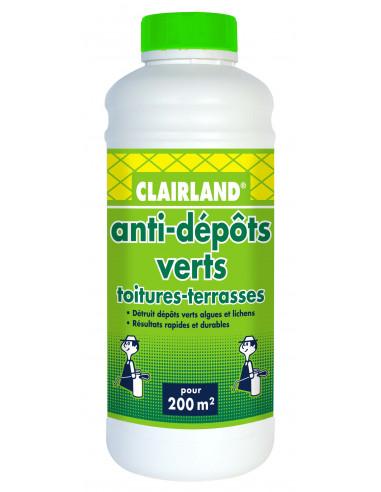 CLAIRLAND Anti-dépôts verts des...