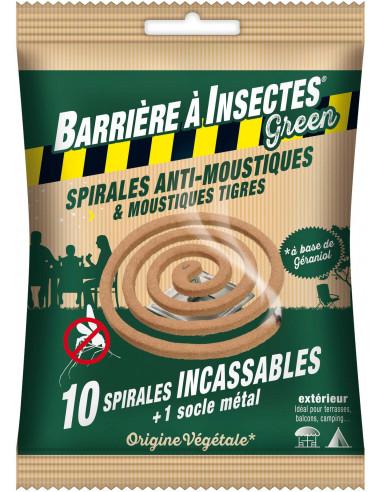 BARRIÈRE À INSECTES® GREEN Spirales...