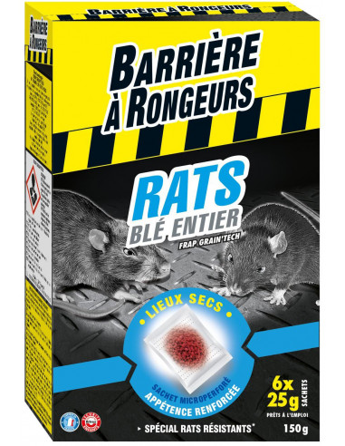 BARRIÈRE À RONGEURS Rats Blé Entier...