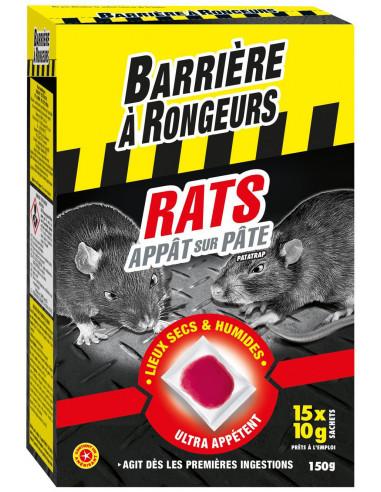 BARRIÈRE À RONGEURS Rats Appât sur...